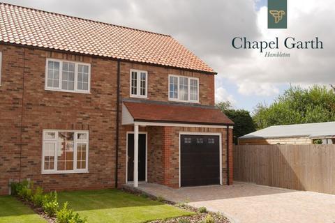 4 bedroom semi-detached house for sale - Chapel Garth, Hambleton