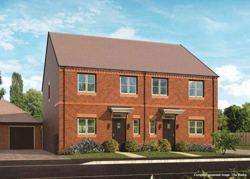 3 Bedrooms Semi Detached House for sale in Plot 119, The Bladon, Oakwood Gate, Bampton