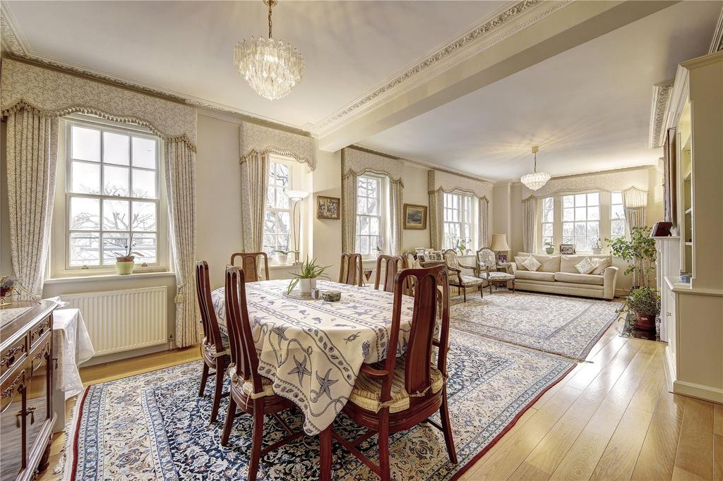 3 Bedrooms Flat for sale in Duchess of Bedford House, Duchess of Bedfords Walk, Kensington, London, W8