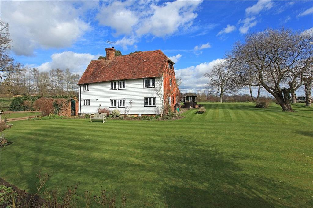 4 Bedrooms Detached House for sale in Furnace Lane, Brenchley, Tonbridge, Kent, TN12