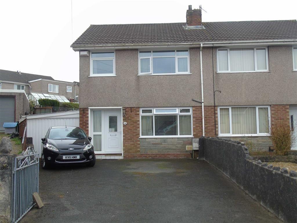 3 Bedrooms Semi Detached House for sale in Cefn Llwyn, Winchwen, Swansea
