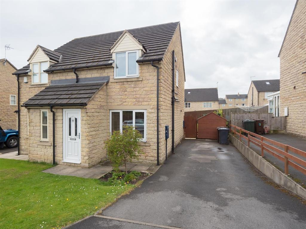 2 Bedrooms Semi Detached House for sale in Applehaigh Close, Bradford, BD10 9DW