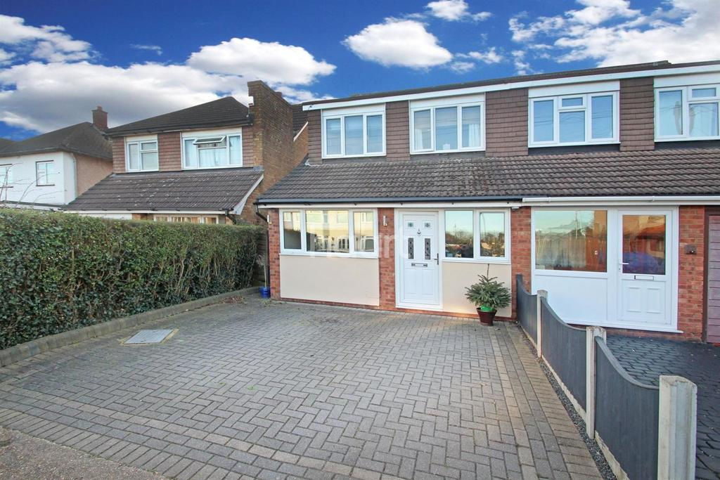4 Bedrooms Semi Detached House for sale in Roseberry Gardens, Upminster