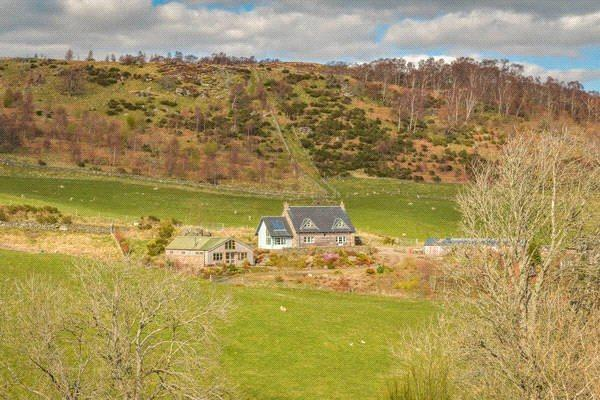 3 Bedrooms Equestrian Facility Character Property for sale in The Smithy (Lot 1), Tombane, Trochry, Perthshire, PH8