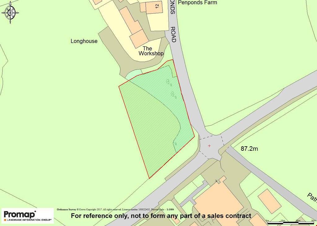 Plot Commercial for sale in Penponds, Camborne, Cornwall, TR14
