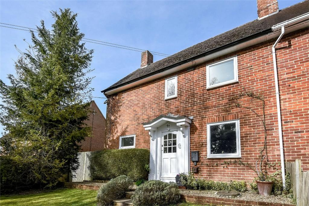 4 Bedrooms Semi Detached House for sale in Wherwell, Andover, Hampshire