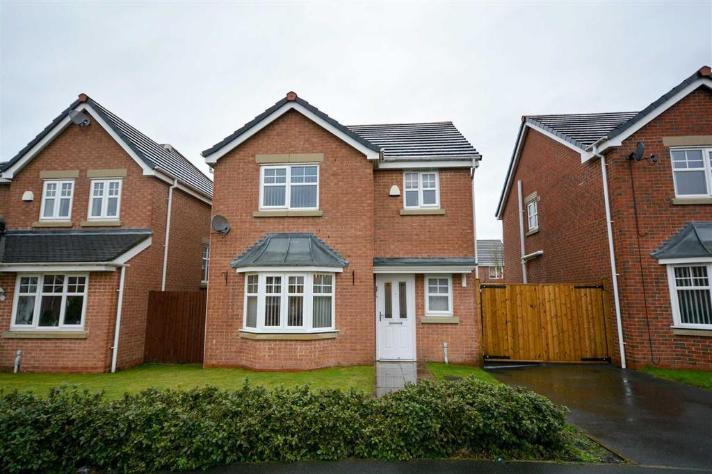 3 Bedrooms Detached House for sale in Meadowgate, Springfield, Wigan, WN6