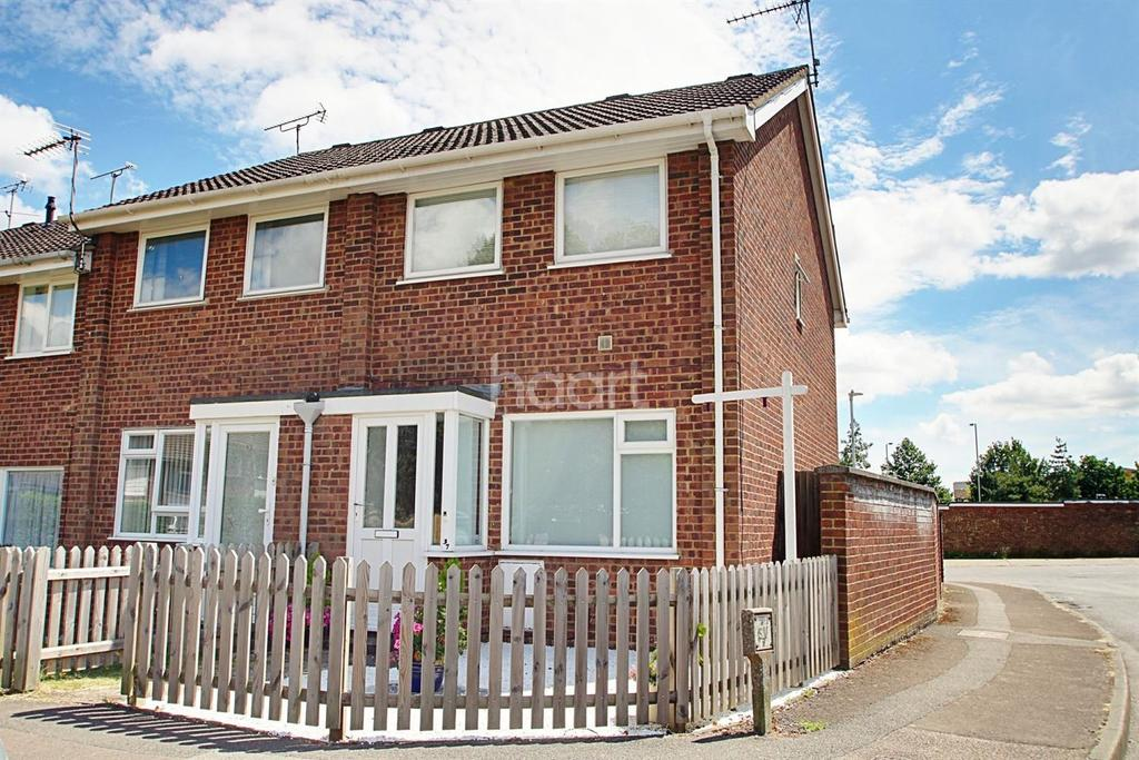 2 Bedrooms End Of Terrace House for sale in Lime Close, Ashford, Kent, TN23