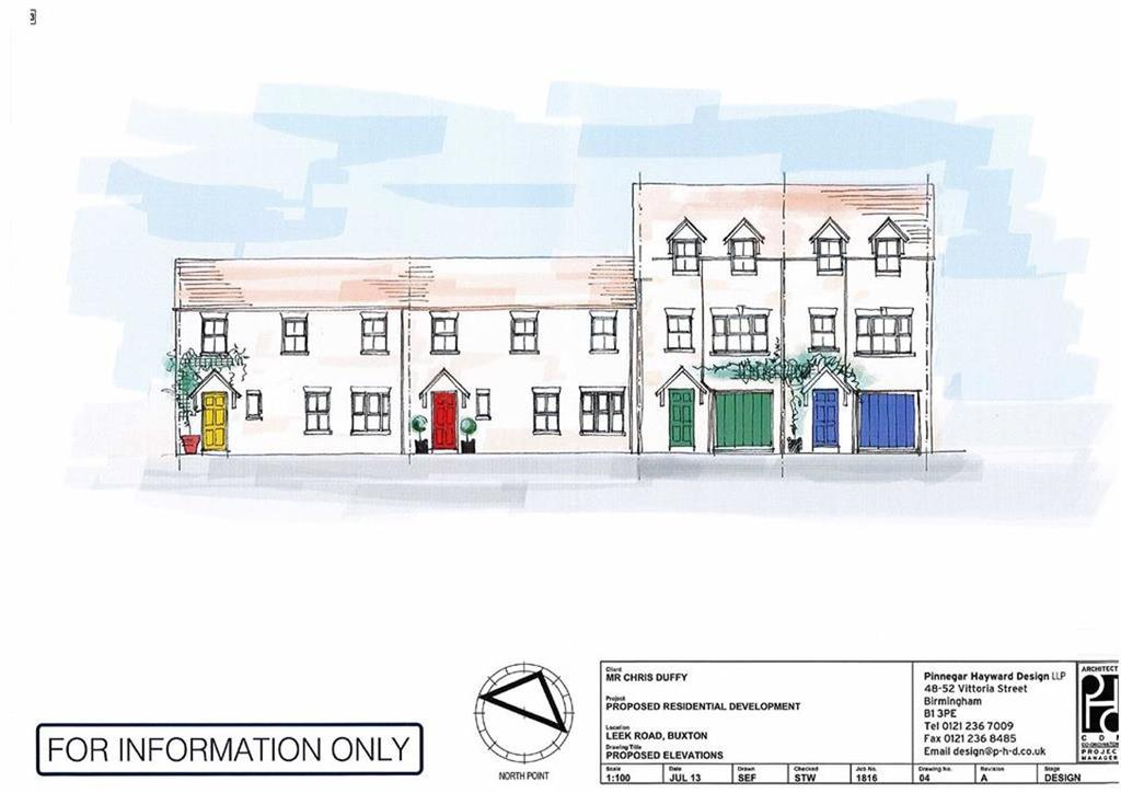 Land Commercial for sale in Leek Road/Macclesfield Old Road, Buxton, Derbyshire