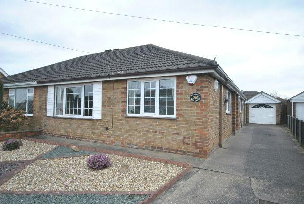 3 Bedrooms Semi Detached Bungalow for sale in Mill Garth, Cleethorpes