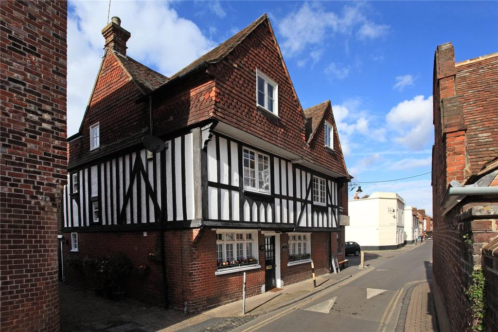 4 Bedrooms Terraced House for sale in Stour Street, St. Mildreds, Canterbury, Kent, CT1