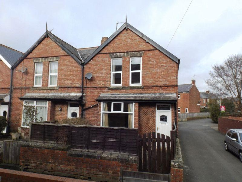 2 Bedrooms End Of Terrace House for sale in Edward Street, Morpeth