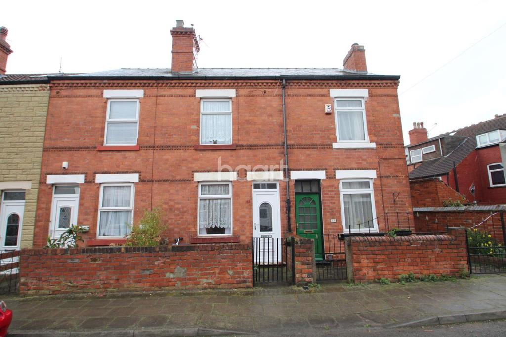 2 Bedrooms Terraced House for sale in West Terrace, Hucknall