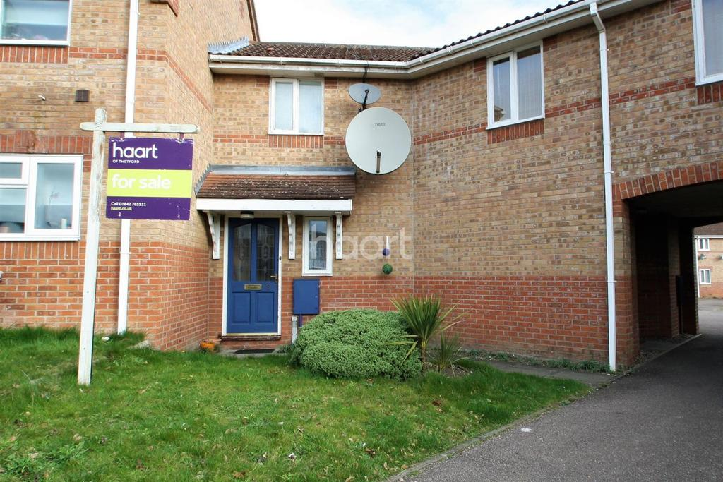 2 Bedrooms Terraced House for sale in Lavender Court, Thetford
