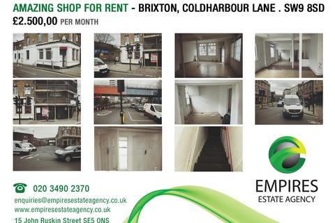Shop to rent - Brixton, Coldharbour Lane . SW9 8SD
