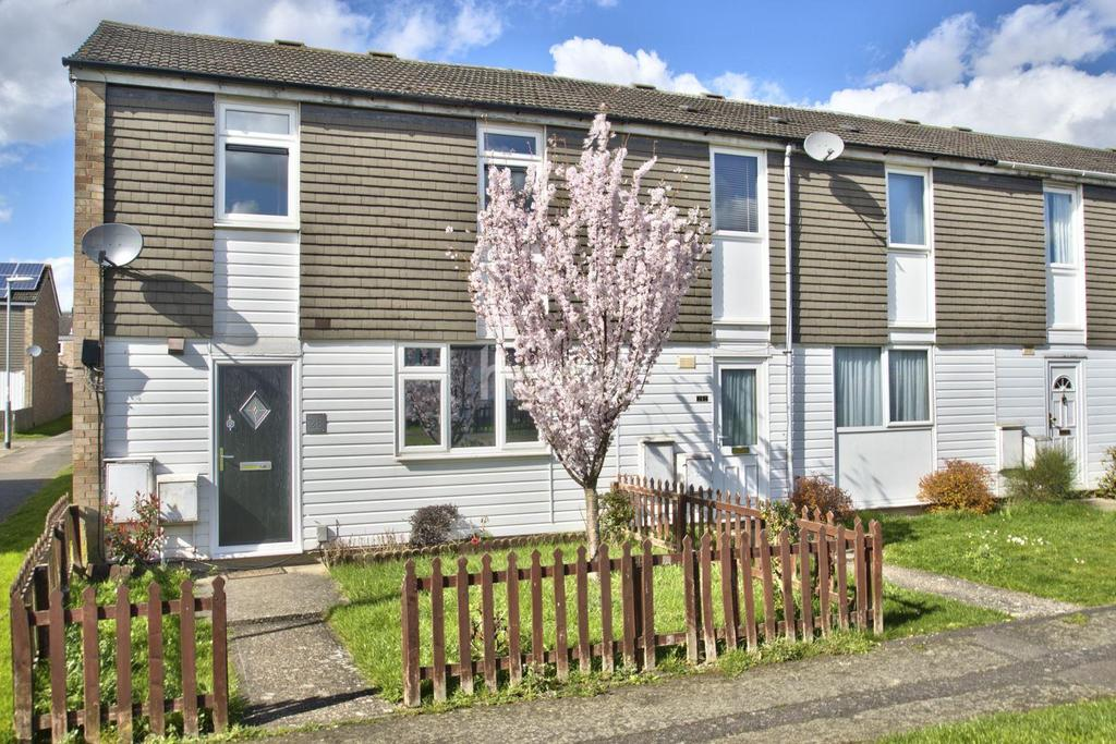 3 Bedrooms End Of Terrace House for sale in Whitehall Walk, Eynesbury, St Neots