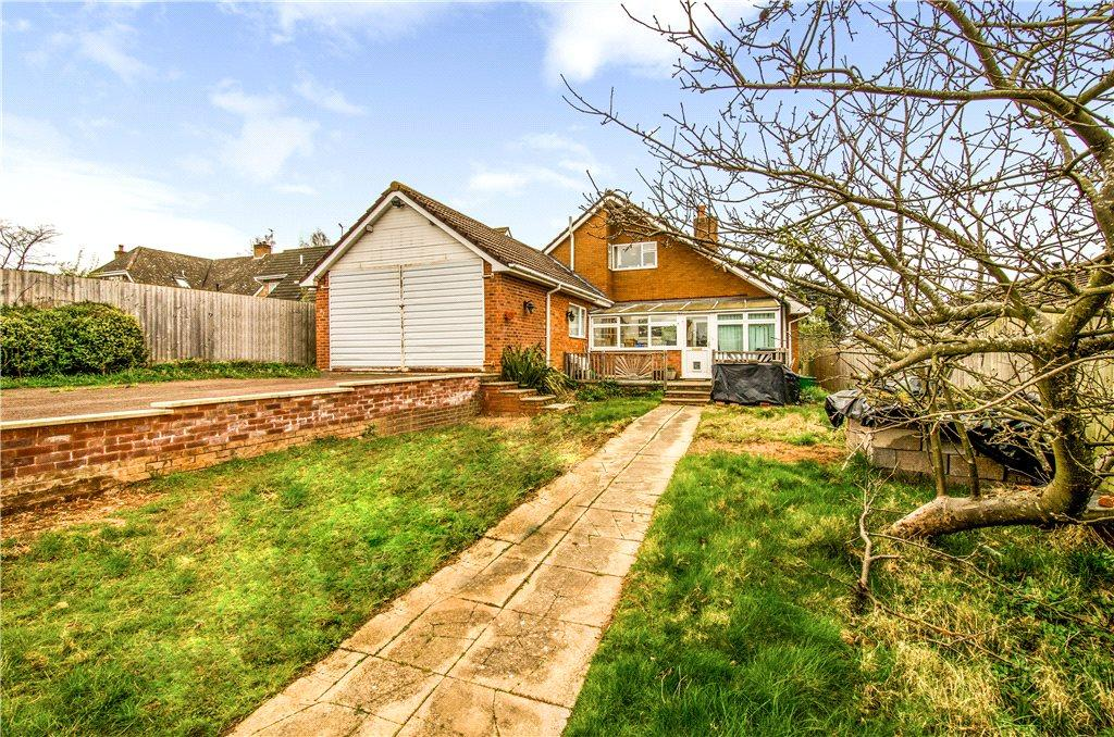 4 Bedrooms Detached House for sale in Hallow Road, Worcester, Worcestershire, WR2