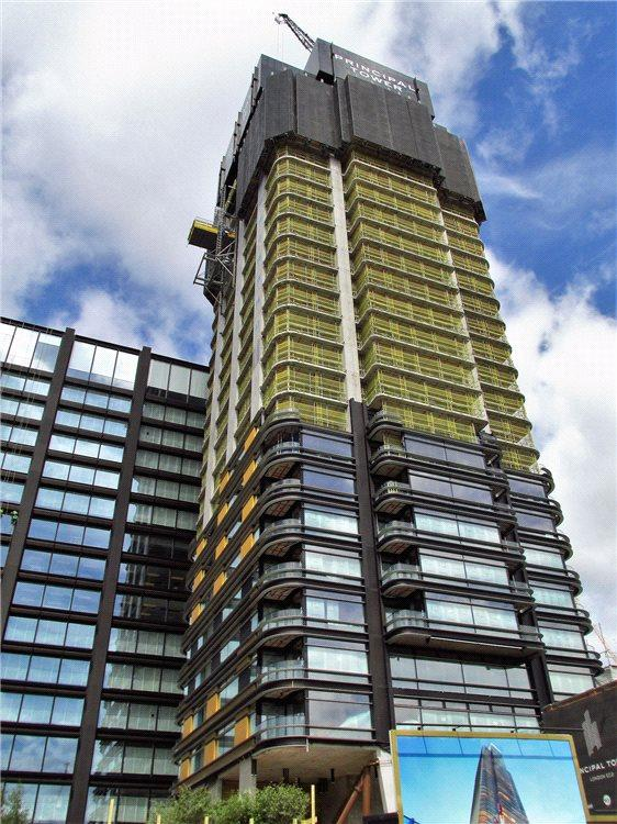 2 Bedrooms Flat for sale in Principal Tower, 115 Worship Street, City, London, EC2A
