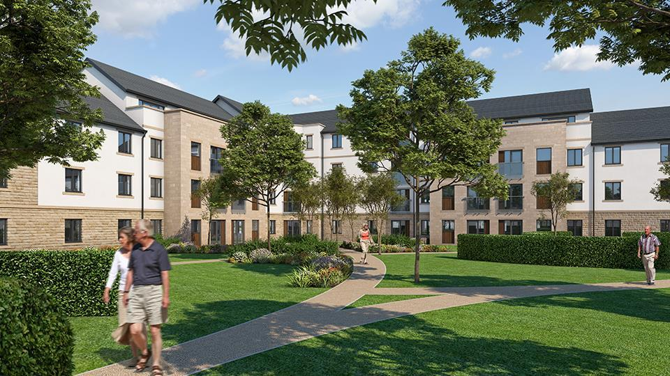 1 Bedroom Retirement Property for sale in PRIESTLY COURT, RAILWAY ROAD, ILKLEY, LS29 8JB