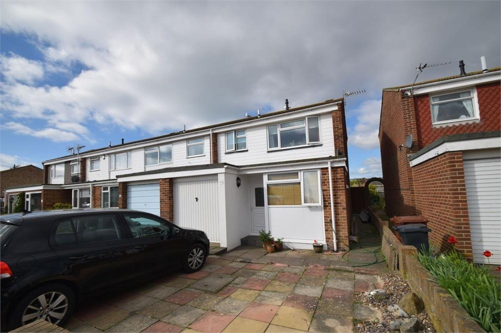 3 Bedrooms End Of Terrace House for sale in Benbow Avenue, Langney Point, East Sussex