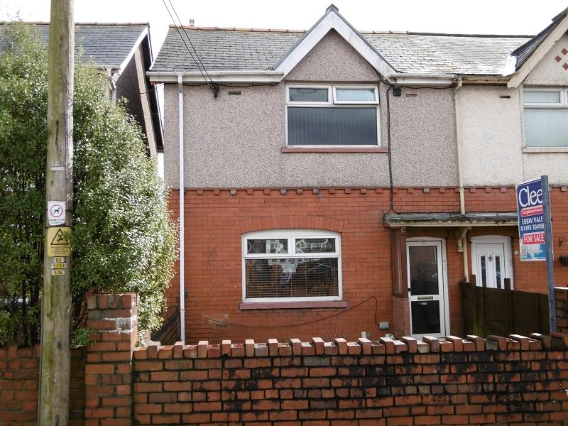 2 Bedrooms End Of Terrace House for sale in Fitzroy Avenue, Ebbw Vale, Blaenau Gwent.