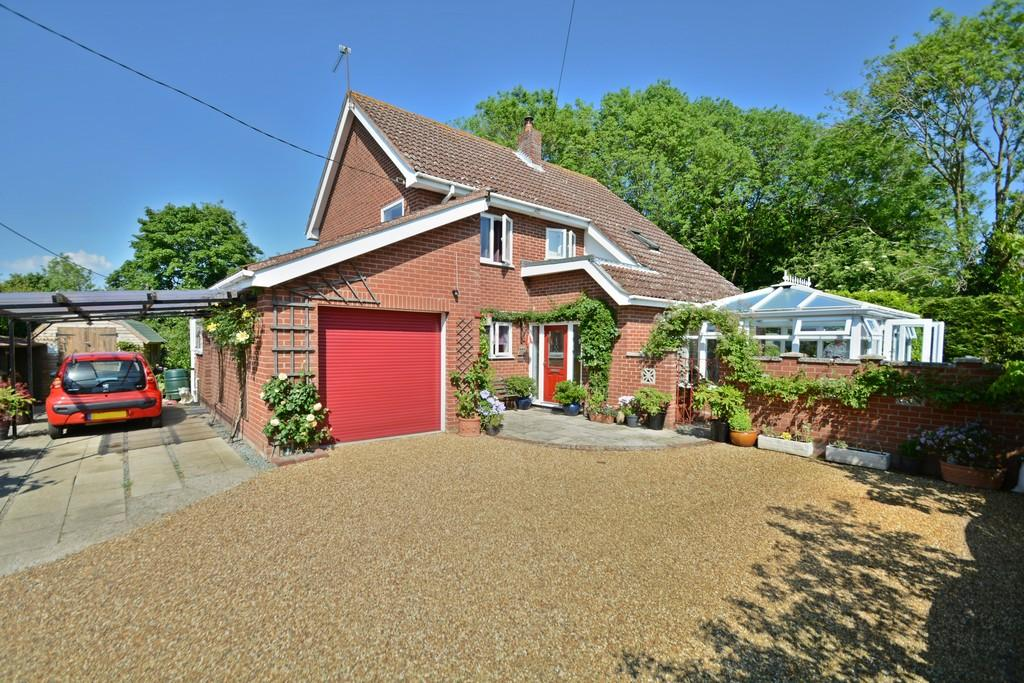 3 Bedrooms Detached House for sale in High Street, Gislingham