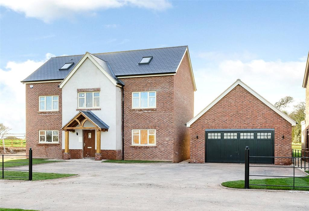 5 Bedrooms Detached House for sale in 2 Hawthorn Close, Harmer Hill, Shrewsbury, Shropshire