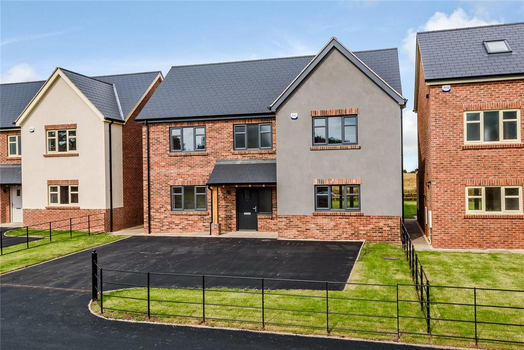 4 Bedrooms Detached House for sale in 4 Hawthorn Close, Harmer Hill, Shrewsbury, Shropshire