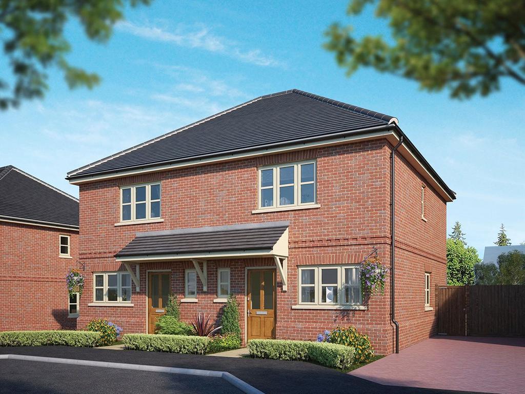 2 Bedrooms Semi Detached House for sale in Fleet Road, Hartley Wintney, Hook, Hampshire