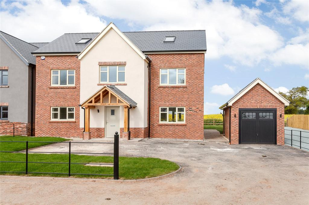 5 Bedrooms Detached House for sale in 3 Hawthorn Close, Harmer Hill, Shrewsbury, Shropshire