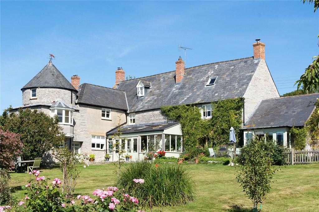 6 Bedrooms Detached House for sale in Wearne House, Wearne, Langport, Somerset, TA10