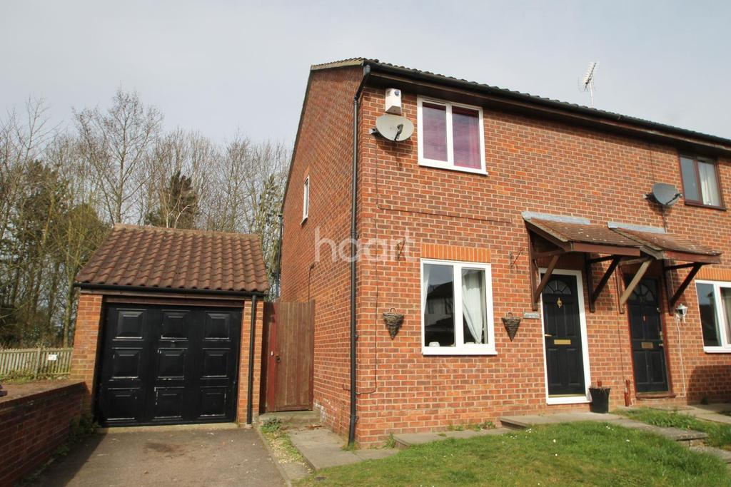 2 Bedrooms Semi Detached House for sale in Sussex Road, Bury St Edmunds