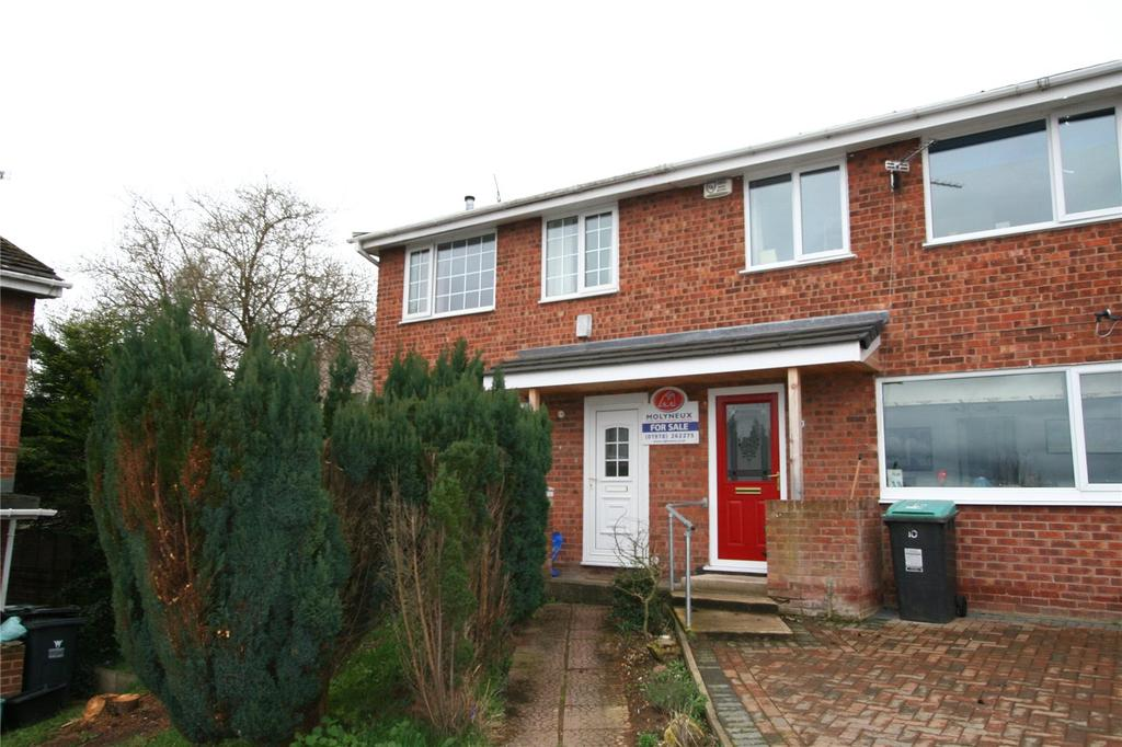3 Bedrooms End Of Terrace House for sale in Cheviot Close, Gwersyllt, Wrexham, LL11