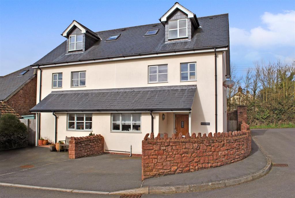 4 Bedrooms Semi Detached House for sale in Courtlands, Langford Budville, Wellington