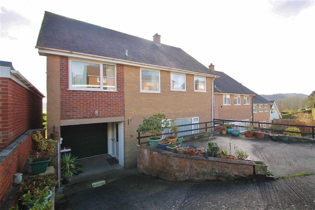 4 Bedrooms Semi Detached House for sale in Trem Hafryn, Welshpool