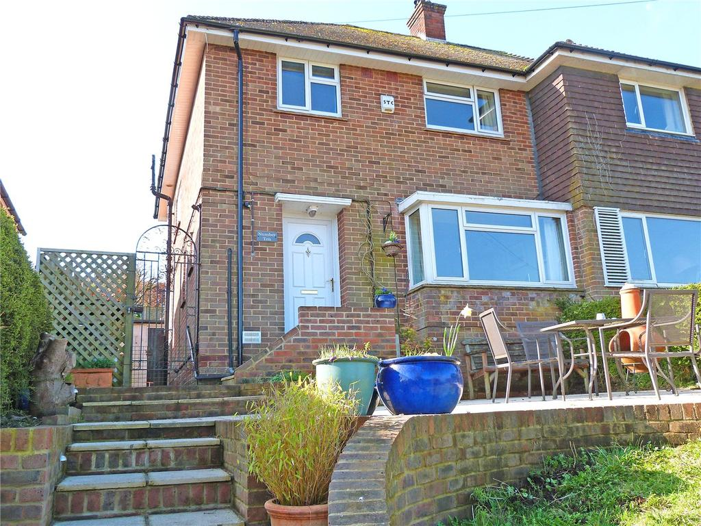 3 Bedrooms Semi Detached House for sale in Hill Road, Lewes, East Sussex, BN7