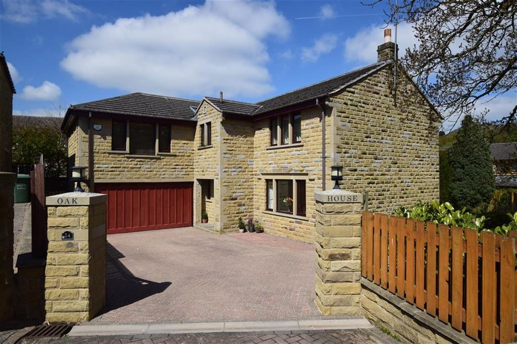 5 Bedrooms Detached House for sale in Carr View Road, Hepworth, Holmfirth, HD9