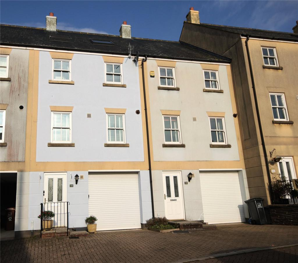 4 Bedrooms Terraced House for sale in Scholars Walk, Kingsbridge, Devon, TQ7