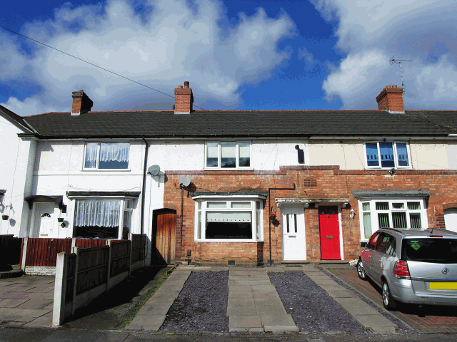 3 Bedrooms Terraced House for sale in Firbeck Road,Kingstanding,Birmingham