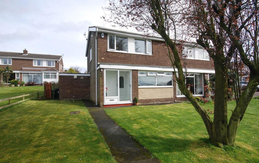 3 Bedrooms Semi Detached House for sale in Colebrooke, Birtley