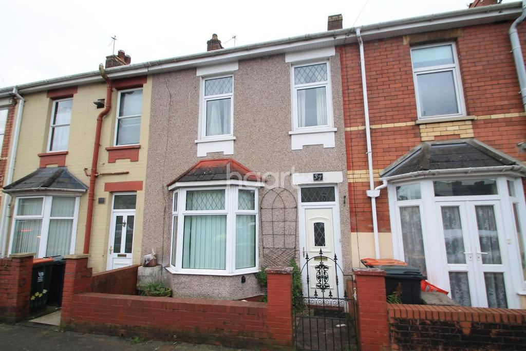 3 Bedrooms Terraced House for sale in Goodrich Crescent, off Malpas Road, Newport