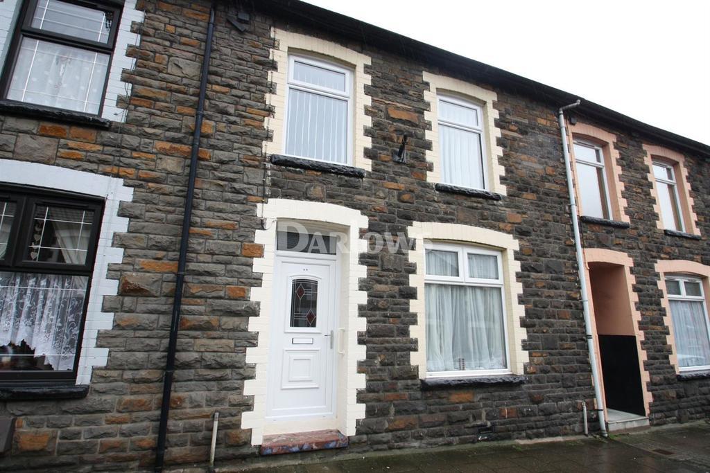 3 Bedrooms Terraced House for sale in Llewellyn St, Pontygwaith