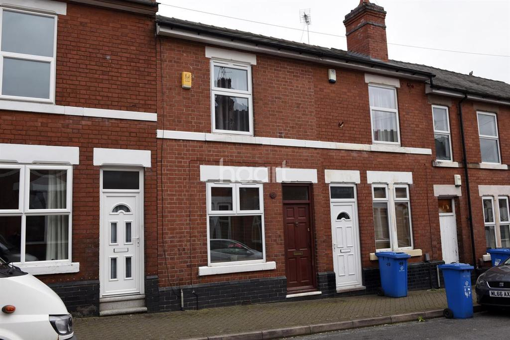 2 Bedrooms Terraced House for sale in Farm Street, Derby