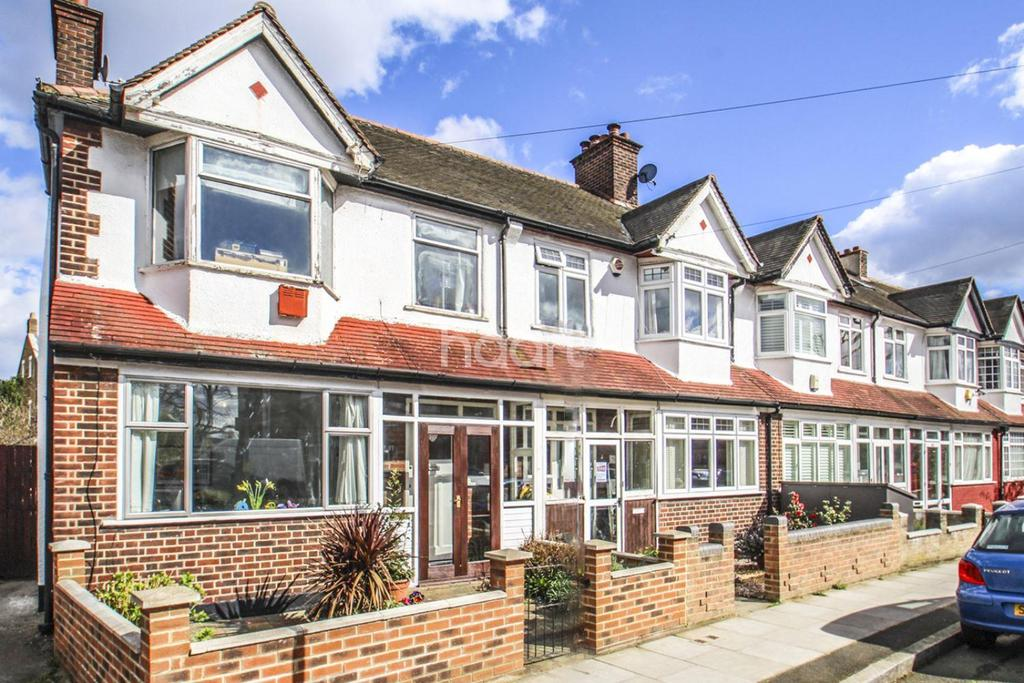 3 Bedrooms End Of Terrace House for sale in Cavendish Road, Colliers Wood, SW19