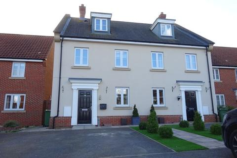 4 bedroom terraced house for sale - Dolphin Road, Costessey, Norwich