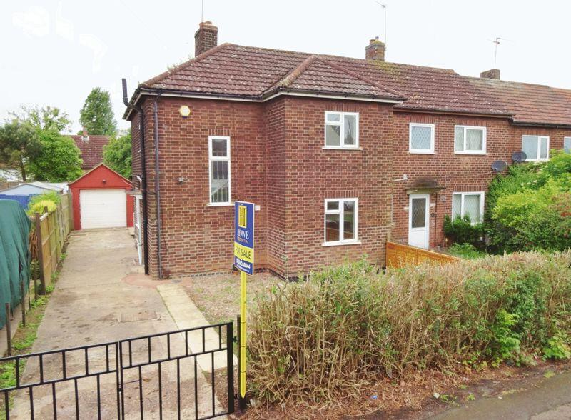 3 Bedrooms End Of Terrace House for sale in Whitworth Avenue, Corby