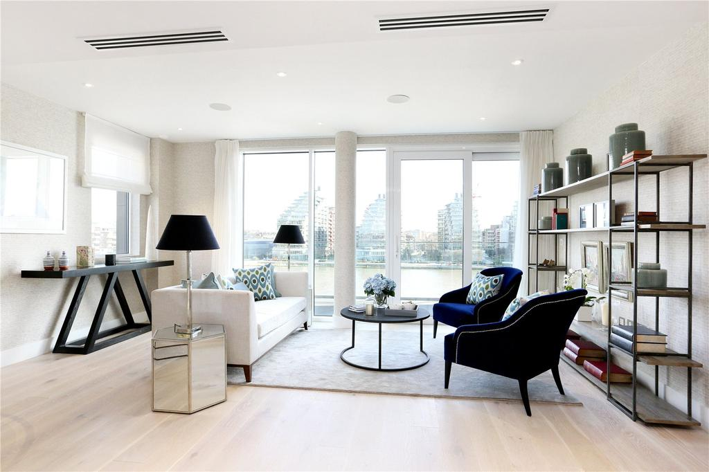 2 Bedrooms Flat for sale in River Walk Apartments, Fulham Riverside, Fulham, London, SW6