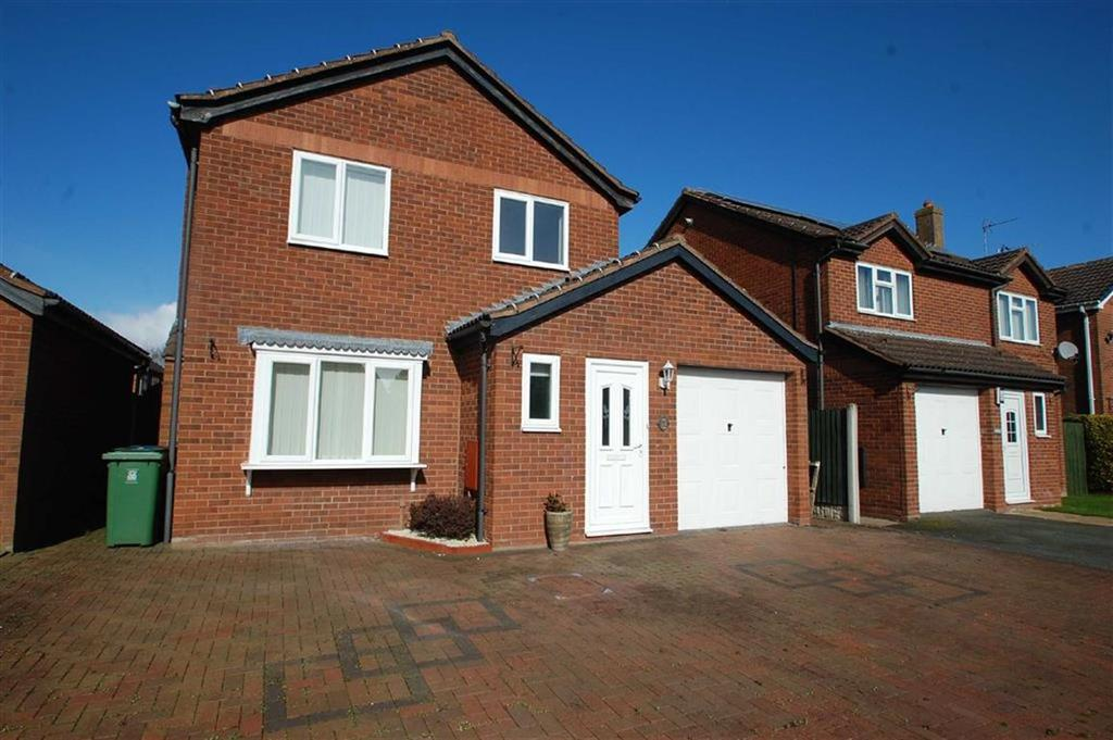3 Bedrooms Detached House for sale in Leafields, Harlescott, Shrewsbury