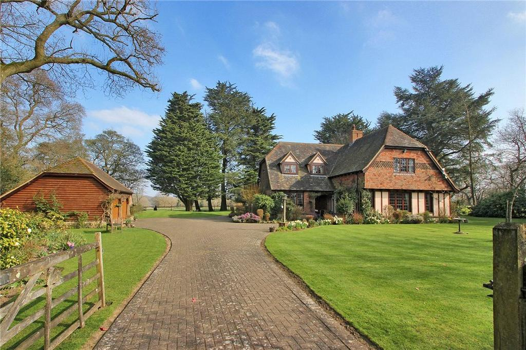 4 Bedrooms Detached House for sale in East Hill Road, Knatts Valley, Sevenoaks, Kent, TN15