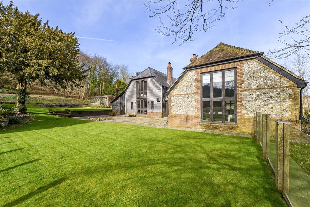 5 Bedrooms Detached House for sale in Chilgrove, Chichester, West Sussex